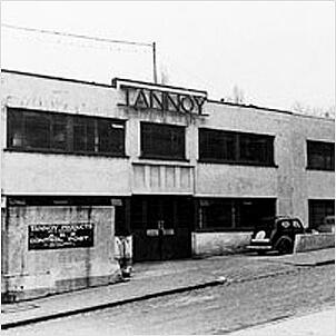TANNOY History 1928 Name Origin