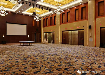 摩宝影音&梅花集团 打造高标准宴会厅影音系统