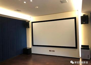 【案例】北京壹号庄园:兼顾观影和K歌功能的娱乐室
