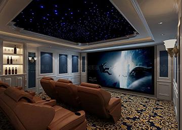 【案例】北京温哥华森林:打造专属定制欧式奢华多功能影音室